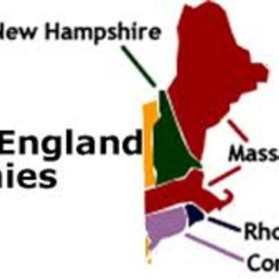 New England colonies timeline