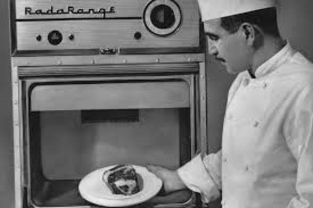 First commercially produced Microwave Oven