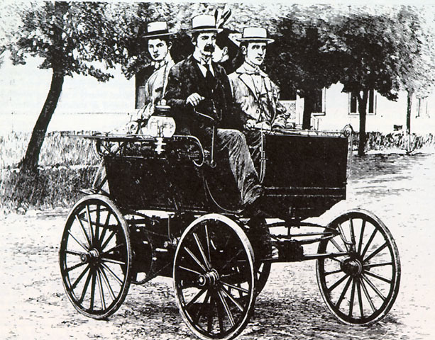 William C Anderson First Electric Car