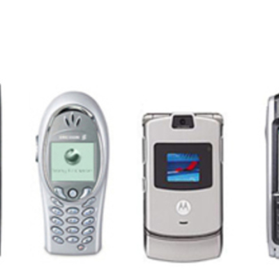 The Evolution of Cell Phones timeline