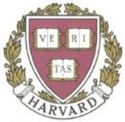 B.S. from Harvard
