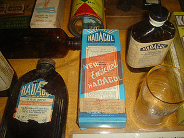Sold Hadacol as a Medicine