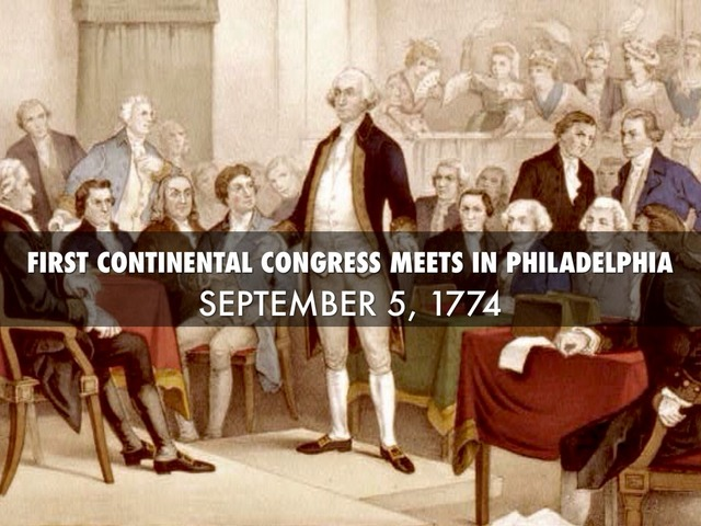 where did the first continental congress meet on september 5 1774