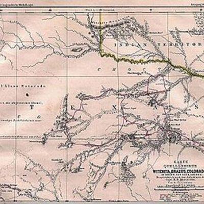 Early Explorers of Texas timeline