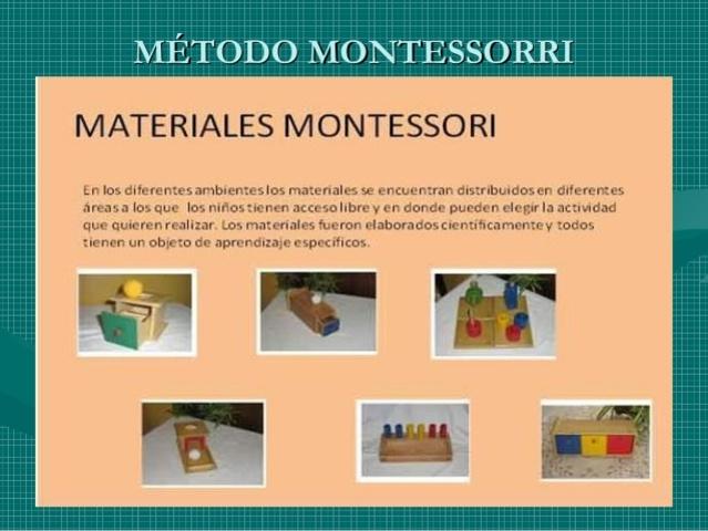 Maria Montessori y los Metodos a la Educacion