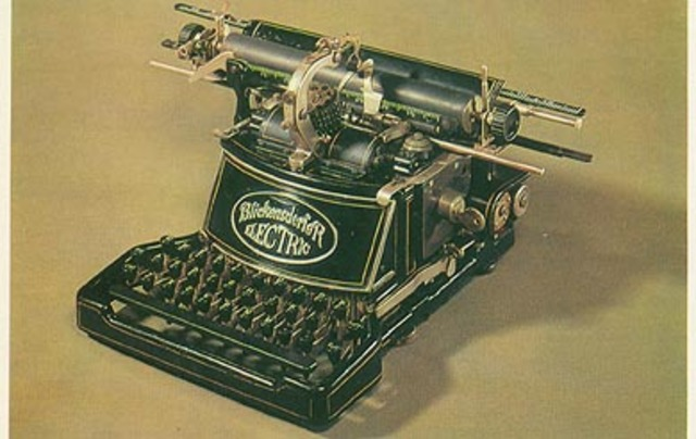 First Electric Typewriter