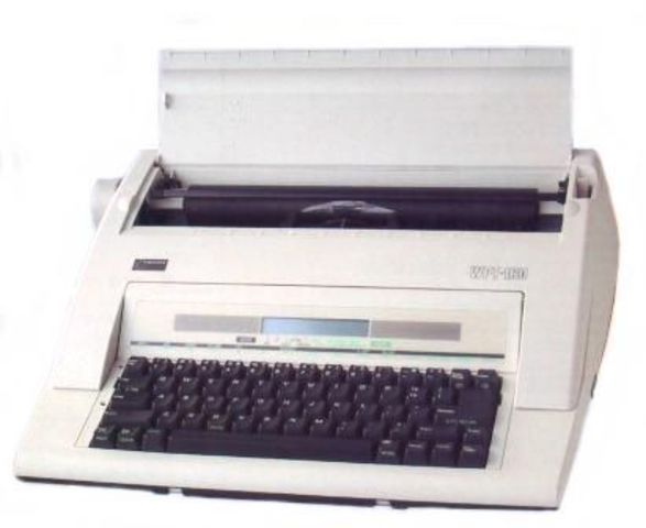 Electronic Typewriters