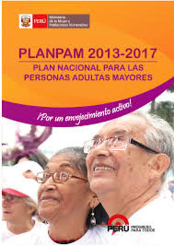PERU. Plan Nacional Para Las Personas Adultas Mayores