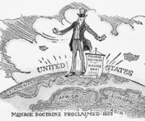 Monroe doctrine date