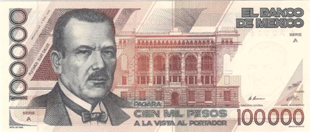 Primera gran devaluación del peso