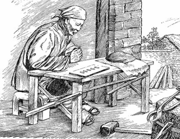 Вторая информационная революция, середина XVI века - появление рукописной книги