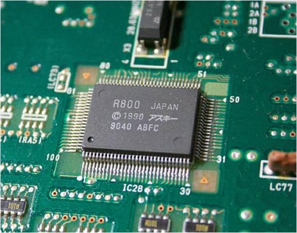 Четвертый этап (70-е гг. XX века) - Изобретена технология микро процессоров