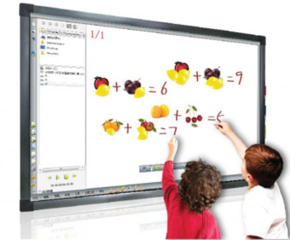 Приход в школу интерактивной доски