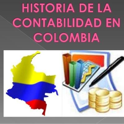 EVOLUCIÓN HISTÓRICA DE LA CONTABILIDAD EN COLOMBIA timeline