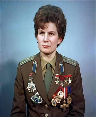 Первый в мире полёт в космос женщины-космонавта - Валентины Владимировны Терешковой