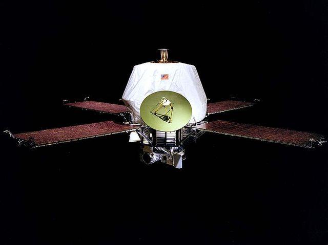 """Станция """"Маринер-9"""" стала первым искусственным спутником Марса"""