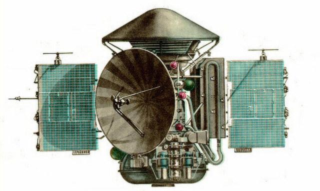 """Станция """"Марс-2"""" впервые достигла поверхности Марса"""
