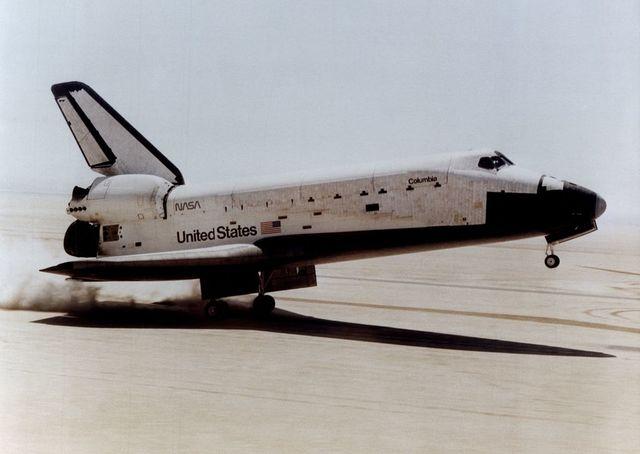 """Первый полёт многоразового транспортного корабля """"Колумбия"""""""