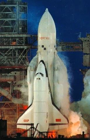 """Первый и единственный космический полёт многоразового транспортного космического корабля """"Буран"""" в автоматическом режиме"""