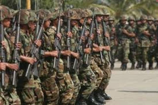 organizacion militar