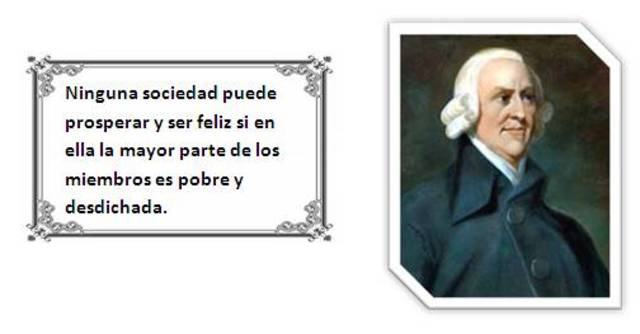 ESCUELA CLASICA ADAM SMITH (1723-1790)