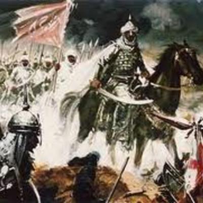 Invasión Árabe en la Península Ibérica timeline