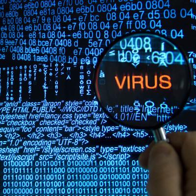 Компьютерные вирусы timeline