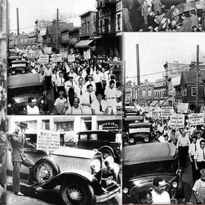 The Great Depression (1929-1939) timeline