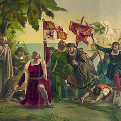 Первое путешествие Х. Колумба timeline