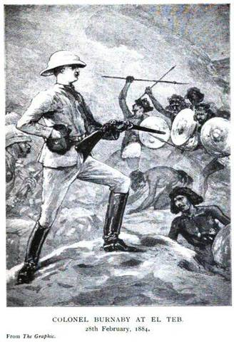 He saw active service in the Suakin campaign and was wounded.