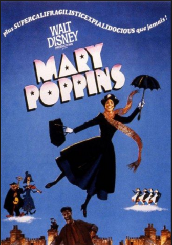 "Screen Debut in ""Mary Poppins"""