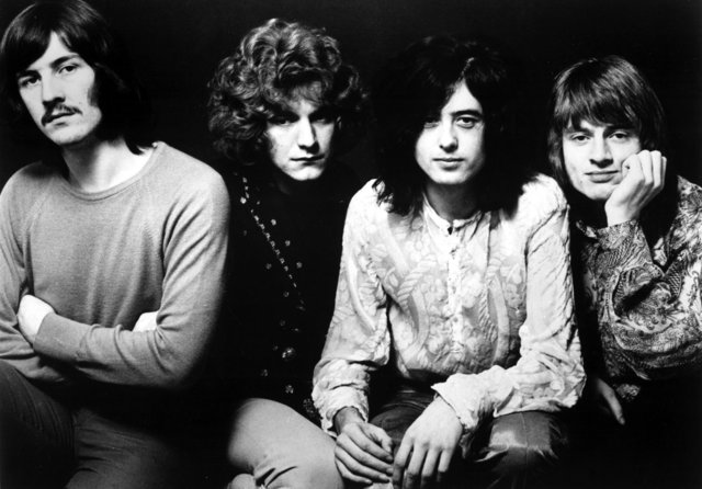 Start of Led Zeppelin