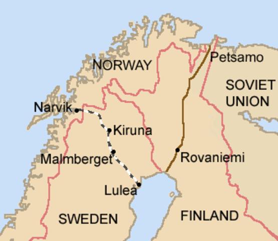 The Soviet Union invades Finland