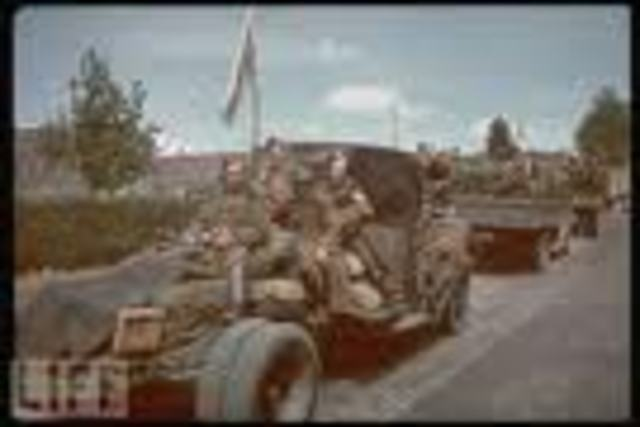 Belgium surrenders to the Germans
