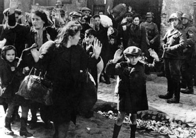Warsaw Ghetto Uprising in occupied Poland The largest single revolt by Jews against the Nazis during WW2.