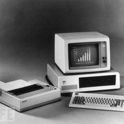 История развития вычислительной техники timeline