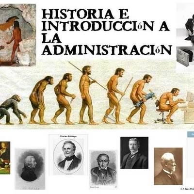 HISTORIA Y EVOLUCION DE LA ADMINISTRACION timeline