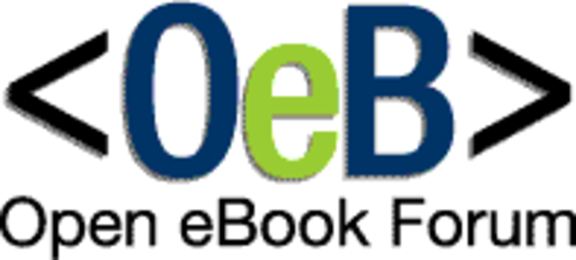 OeBF (Open eBook Forum) was created.