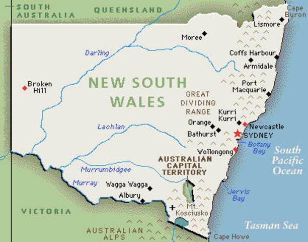 NSW chosen for first fleet transportation