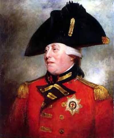 King George III sent a fleet to colonize Australia.
