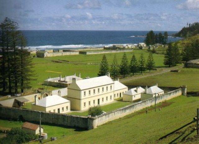 Norfolk Island Prison open