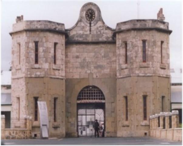 Fremantle Prison opened