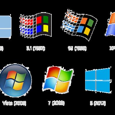 Sistemas Operativos Windows timeline
