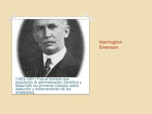 HARRINGTON EMERSON