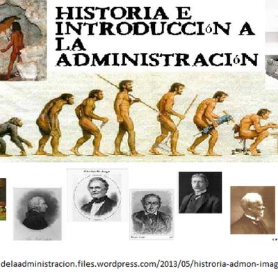 EVOLUCIÓN DEL PENSAMIENTO ADMINISTRATIVO timeline