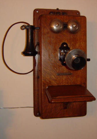 First telephone call made in Australia