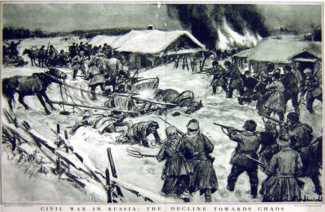 who won the russian civil war