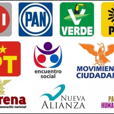 Línea del Tiempo Partidos Políticos Mexicanos (Valeria Pereda-AlbertoVidales) timeline