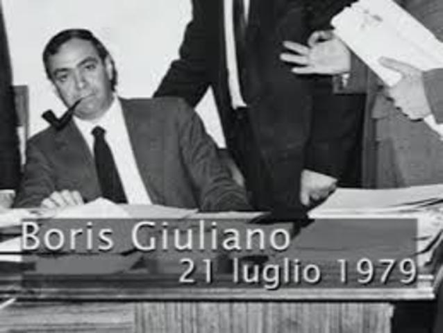 Morte Boris Giuliano