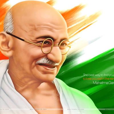 """From M.K. Gandhi to """"Mahatma"""" M.K. Gandhi  timeline"""
